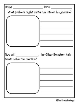 Olive, the Other Reindeer Ornament Activity Craft and Book Companion Pack
