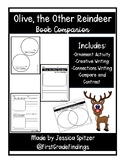 Olive, the Other Reindeer Ornament Activity Craft and Book