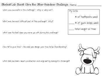 Olive the Other Reindeer - Picture Book STEM Design Challenge