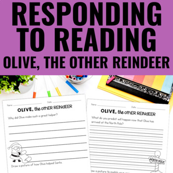 Olive, the Other Reindeer - Reading Response