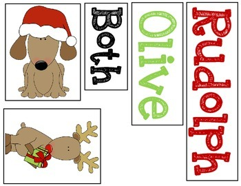 Olive the Other Reindeer & Rudolph Reindeer Character Compare & Contrast