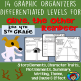 Olive the Other Reindeer activities, Christmas graphic organizers, mentor text