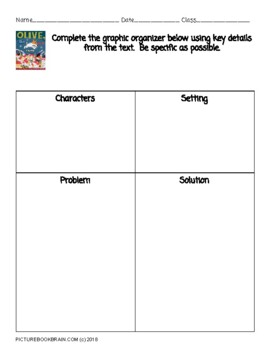 Olive the Other Reindeer by Vivian Walsh Lesson Plan and Activities