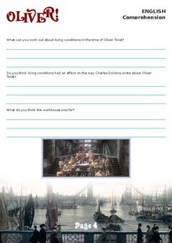Oliver! (1968) movie worksheet