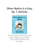 Oliver Button is a Sissy: A problem and solution read aloud