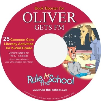 Oliver Gets FM Book Booster