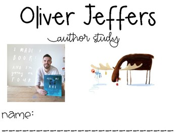 Oliver Jeffers Author Study