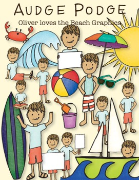 Oliver Loves the Beach Graphic Pack