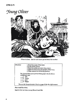 Oliver Twist 10 Chapter Novel with Student Activities and Answer Keys