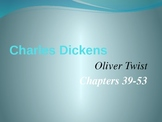 Oliver Twist Chapters 39-53 PowerPoint