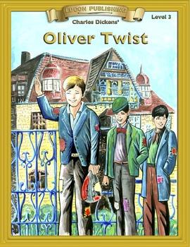 Oliver Twist RL3.0-4.0 flip page EPUB for iPads, iPhones o