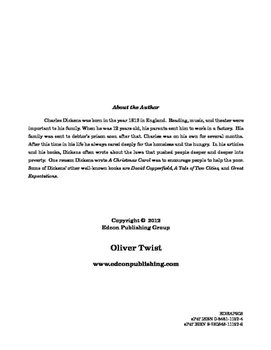 Oliver Twist 10 Chapter Reader