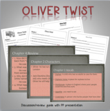 Oliver Twist Reading Comprehension questions and PP guide