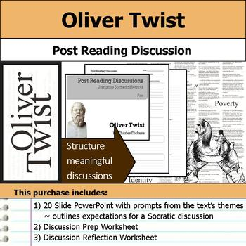 Oliver Twist - Socratic Method - Post Reading Discussions
