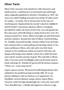 Oliver Twist  - Summary Handout