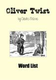 Oliver Twist (Word List)