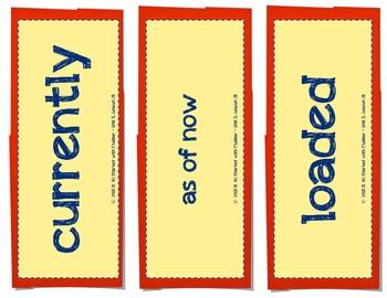 Journey of Oliver K. Woodman, Vocabulary Cards, Unit 5 Lesson 23, Journeys 3rd