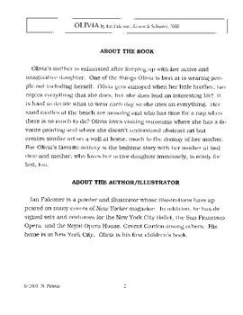 Olivia Literature Guide