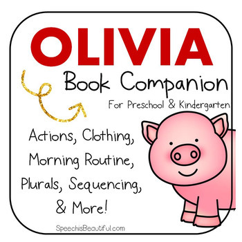 Olivia: Activities and Printables - Book Companion