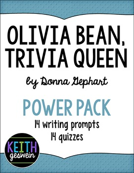 Olivia Bean, Trivia Queen Power Pack:  14 Writing Prompts and 14 Quizzes