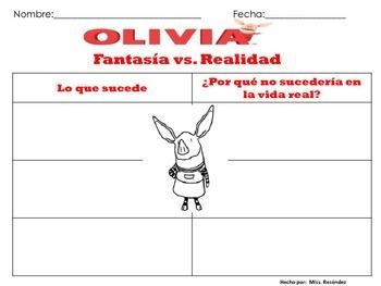 Olivia: Fantasia y Realidad