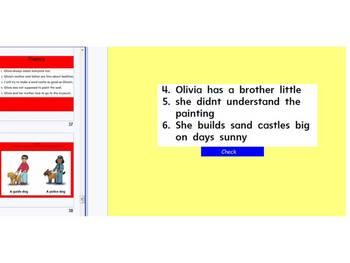 Olivia Interactive Mimio Chart