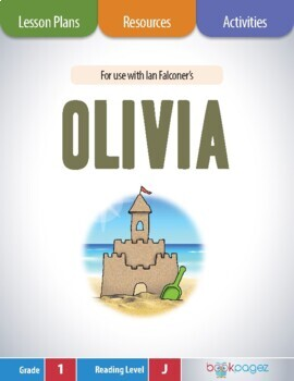 Olivia Lesson Plans & Activities Package, First Grade (CCSS)