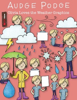 Olivia Loves the Weather Graphic Pack