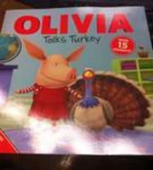 Olivia Talks Turkey activity for read aloud