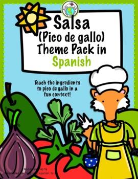 Olivia hace salsa Spanish Printable Minibook