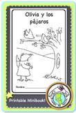 Olivia y los pájaros (Colores Practice) Spanish Printable Minibook