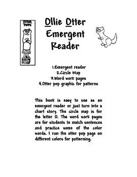 Ollie the Otter Emergent Reader