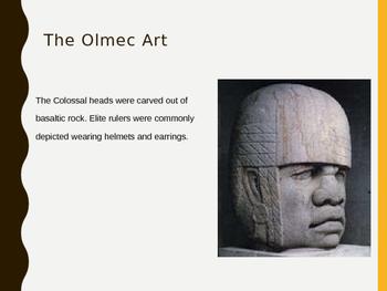 Olmec Art PPT