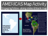 Olmec-Toltec-Maya-Inca-Aztec Map Activity: easy, fun, interactive 20-slide PPT