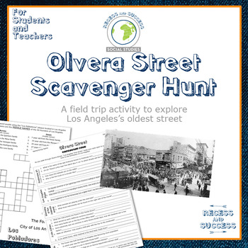 Los Angeles Olvera Street Scavenger Hunt