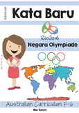 Olympiade Indonesia Continents, Countries and Flags Pack