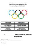 Olympian Behavior Management Plan