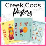 Olympian God Posters   Greek Mythology   Greek Gods and Goddesses