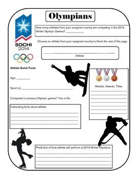 Olympian Report