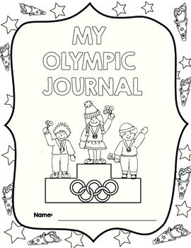 Olympic Activities - Medals, a torch, dot-to-dots and a journal too!