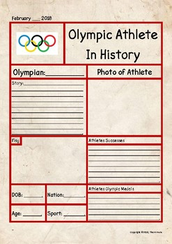 Olympic Athlete Profile