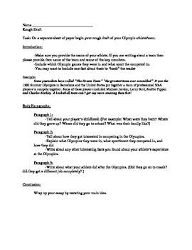 Olympic Athlete Reseach