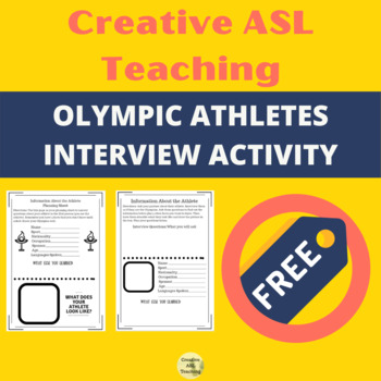 Olympic Athletes Interview - ASL