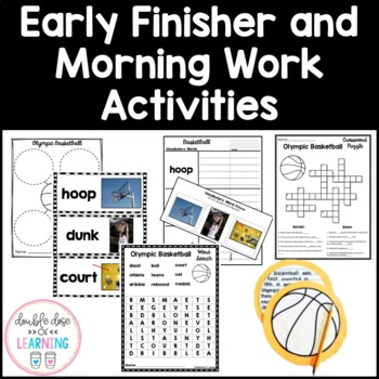 Summer Olympics: Olympic Basketball Research Unit with PowerPoint