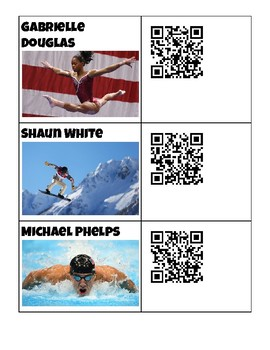 Olympic Biography QR Code