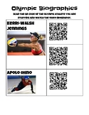 Olympic Biography QR Code