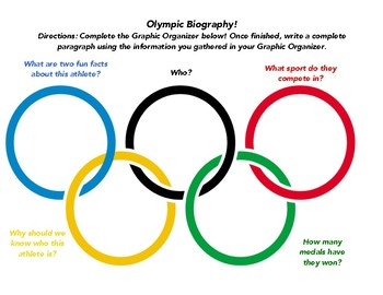 Olympic Biography Worksheet