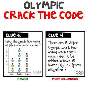 Olympic CRACK THE CODE (Grades 1-3)