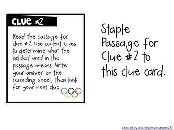 Olympic CRACK THE CODE (Upper Elementary)
