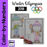 Olympic Color-by-Teen Numbers